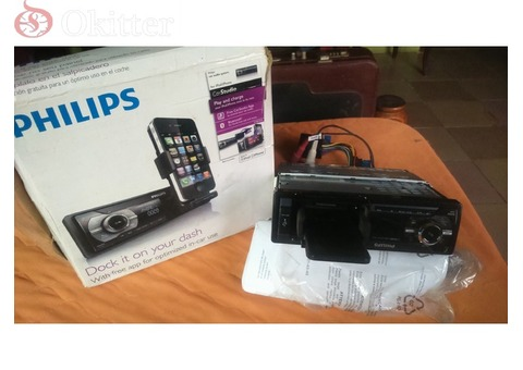 PHILIPS Car Studio Cmd310 Car Radio, Bluetooth, Usb, iPhone & iPod