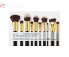 BH Cosmetics Sculpt and Blend 2 – 10 Piece Brush Set